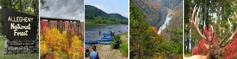 PA Wilds Vacations and Outdoor Travel Adventures